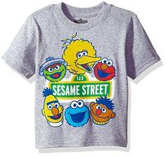 Sesame Street Toddler Boys' Short Sleeve T-Shirt, Heather... https://www.amazon.com/dp/B06XY9FF5V/ref=cm_sw_r_pi_dp_U_x_KyyJAb8CGZH8F
