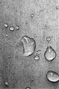 Pencil Drawings Of Water Drops