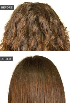 Japanese straightening treatment, 7 Semi-Permanent Beauty Treatments Worth Paying For Permanent Straightening, Japanese Hair Straightening, Pretty Hairstyles, Straight Hairstyles, Curl Hair With Straightener, Bushy Hair, Japanese Hairstyle, Hair Care Tips, Beauty Hacks