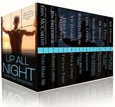 FicWishes: Cover Reveal - UP ALL NIGHT - A Ten Book New Adult Bundle