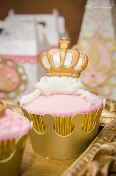 Pink + Gold Princess themed birthday party via Kara's Party Ideas KarasPartyIdeas.com Printables, cake, decor, favors, recipes, cupcakes, and more! #princessparty #princess #princesspartyideas (16)