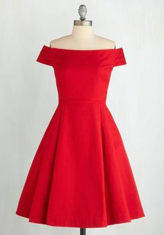 red off the shoulder a-line short elegant satin bridesmaid dress
