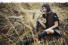 Vittoria Ceretti In 'Post Rave' By Fanny Latour-Lambert For Grey Magazine Fall 2014 — Anne of Carversville
