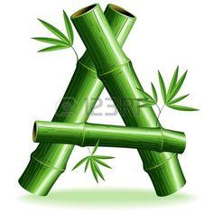 Bamboo Logo Brief Registrieren A photo