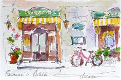 Dreama's Daily Paintings and Writings  Original Watercolor Postcards of Italy Giveaway!  Just leave a comment on my blog to have your name in the hat:)    http://dreamatolleperry.blogspot.com/2012/09/cartolina-7.html#comment-form