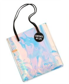 Macy s Beauty Collection Holographic Tote, Created for Macy s 13019fab838