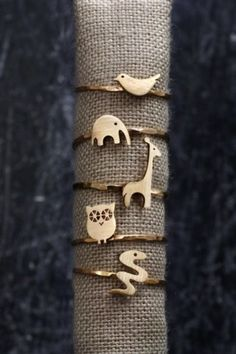 Animals jewelry.