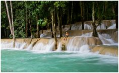 Kouang Si Waterfalls, Laos? No info on original site.