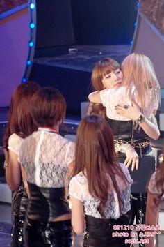 when Taengsic hug, all eyes on them..