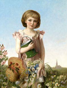 """""""A Young Gardener"""" Antonie Boubong"""