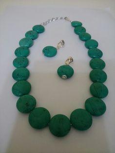 Conjunto turquesa verde 80,00