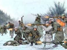German troops in Russia