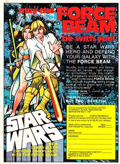 "Wow! ""Starwalker"" and a ""force beam"""