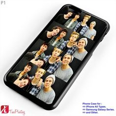 5sos ashton irwin boys calum hood cute - Personalized iPhone 7 Case, iPhone 6/6S Plus, 5 5S SE, 7S Plus, Samsung Galaxy S5 S6 S7 S8 Case, and Other