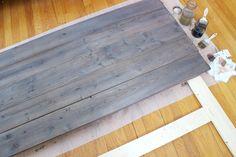 Steel Wool Vinegar Tea Wood Staining 7