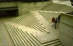 Creative handicap accessible stairs design