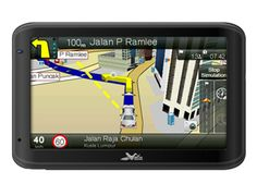 Q4035 GPS Navigation by Wayway. GPS with a slim design and modern touch, now you can swipe away your worry since you got this cool GPS with you, a black GPS that features Location by Phone Number, 3D Buildings & Landmarks visualized identify the location easier. http://www.zocko.com/z/JIsB4