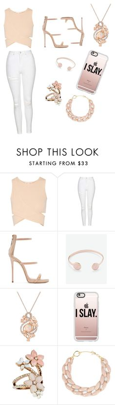 """Day out"" by bscottolavino ❤ liked on Polyvore featuring Jonathan Simkhai, Topshop, Giuseppe Zanotti, Ted Baker, LE VIAN, Casetify, Accessorize and DIANA BROUSSARD"