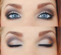 Idee trucco occhi azzurri