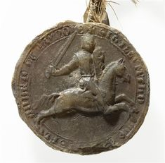 Sceau : Thomas de Savoie, comte de Flandre PÉRIODE 13e siècle  TECHNIQUE/MATIÈRE cire