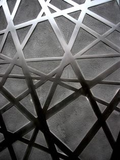 intersection of lines ~ETS Decoration, Art Decor, Culture Art, Laser Cut Metal, Metal Screen, Beautiful Wall, Textured Walls, Architecture Details, Textures Patterns