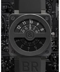 Bell and Ross compass, BR 01-92