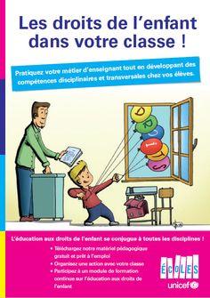 """Brochure """"Les droits de l'enfant dans votre classe"""""""