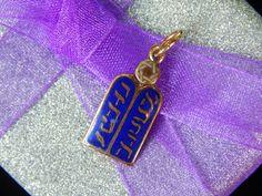 Vintage 14K Gold Ten Commandments Pendant Charm - Visit my Etsy shop: www.etsy.com/shop/AyQueBella