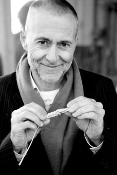 Chef Michel Roux Jr.. brilliant chef and a nice man too