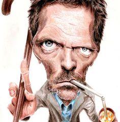 Dr House(Hugh Laurie)