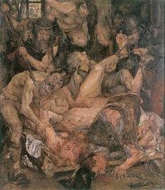 Lovis Corinth - The Capture of Samson (1907)