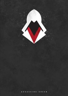 Assassins Creed. So cool. Love this minimalist poster.