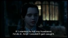 """When she said this…and absolutely no one doubted her conviction. 
