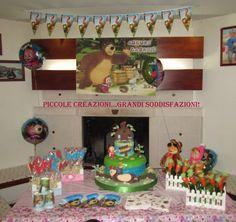 Masha e orso Sweet table