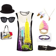 """""""Summer in the City"""" by c-couzens on Polyvore"""