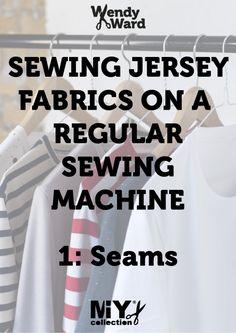 Strech stitches for regular Sewing Machine