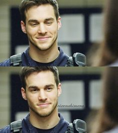 Chris Wood as Jake Riley in CW's Containment