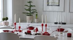 Iittala Rød jul Purodeco Feng Shui | Red and white Christmas #jul #christmas #iittala