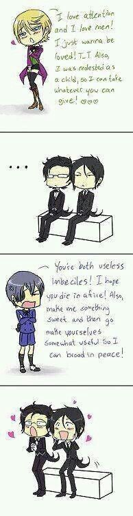 Ciel VS Alois, oh, Ciel is still better! x3
