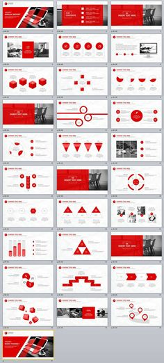 31+ Best Red Annual Report PowerPoint Template | The highest quality PowerPoint Templates and Keynote Templates download