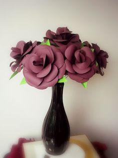 The Catelier - amintiri pentru 9 vieti Trandafiri de hartie Paper Flowers, Home Decor, Decoration Home, Room Decor, Tissue Flowers, Interior Decorating