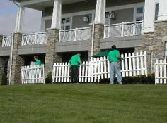 picket fence set up