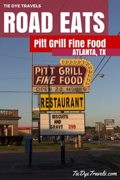 Road Eats: Pitt Grill Fine Food in Atlanta, TX. | Tie Dye Travels with Kat Robinson