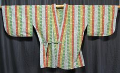 """""""Striped Sally"""" Woman's Dochugi - $40 Or find more here:  http://www.kyotokimono.com/page/wh"""
