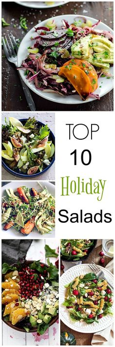Scrumptious Creative Salads for your Holiday Menu from Simply Fresh Dinners!