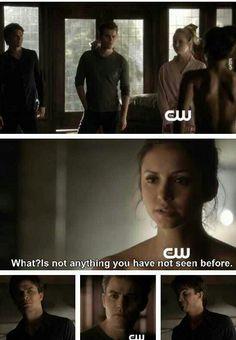 #TVD The Vampire Diaries  Damon,Stefan,Caroline & Elena(humanity off)