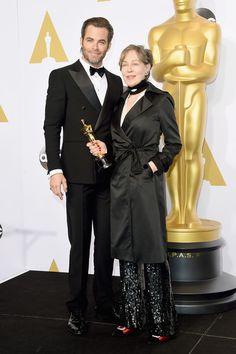 Chris Pine Photos: 87th Annual Academy Awards Press Room