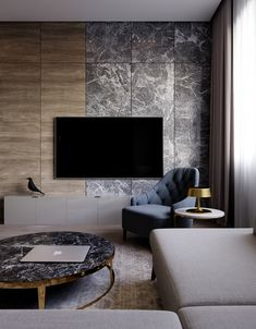 Luxury living room design Ideas with Neutral Color Palette Living Room Tv, Living Room Modern, Living Room Interior, Living Room Designs, Feature Wall Design, Tv Wall Design, Modern Home Interior Design, Interior Exterior, Tv Cabinet Design