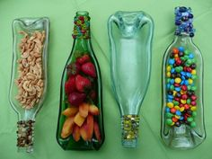 Beaded Wine Bottle Serving Trays  A perfect hostess gift!