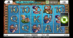 #Subtopia Software: #Netent Paylines: 20 Reels: 5 Mobile bonus: Yes